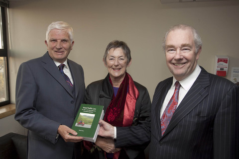 Author of Road Traffic Law Robert Pierse, former Fine Gael politician Mary Banotti and President of the High Court, The Hon. Mr Justice Nicholas J. Kearns.