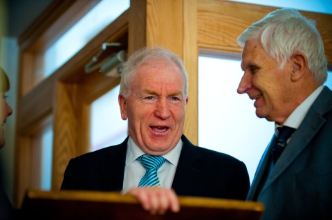 The Minister for Arts, Heritage & Gaeltacht Affairs, Mr Jimmy Deenihan,TD and Robert Pierse