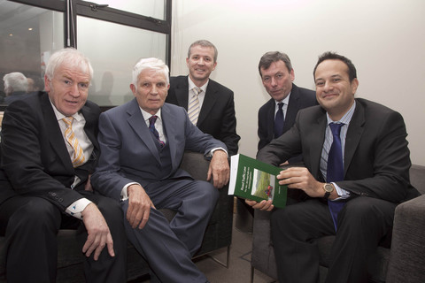 Minister for Arts, Heritage & Gaeltacht, Jimmy Deenihan , Author or Road Traffic Law, Robert Pierse, Minister for Transport, Tourism & Sport, Leo Varadkar